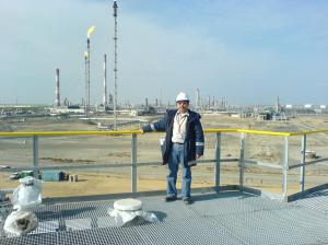 Kazakhstan Oil & Gas Field