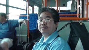 Inside Narita Japan's Passenger Bus (Sayonara)