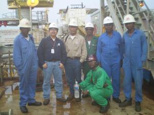 Equatorial Guinea offshore platform