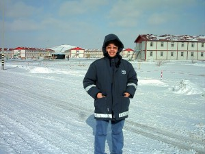 Tengiz, Kazakhstan's -34 degree centigrade temperature