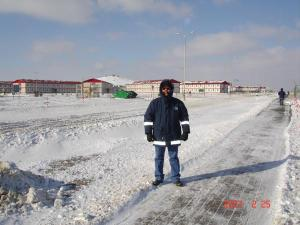 winter in kazakhstan
